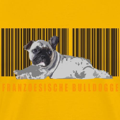 BARCODE BULLY - Männer Premium T-Shirt