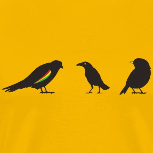 Reggae Birds - Männer Premium T-Shirt