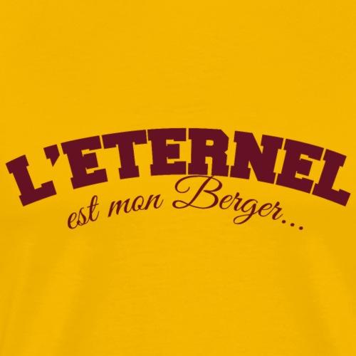 Eternel est mon Berger - T-shirt Premium Homme