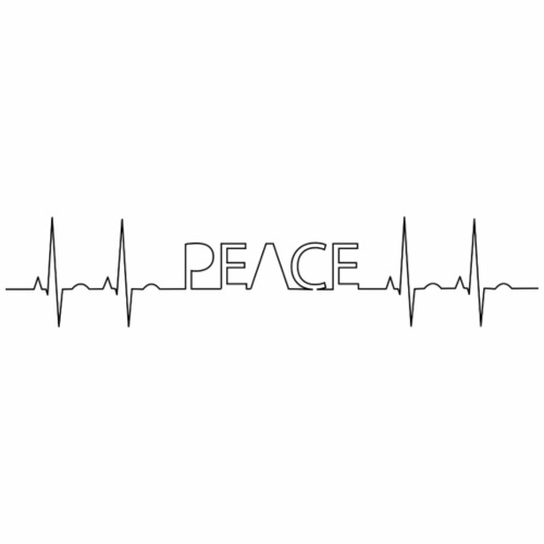 PEACE at Heart - Men's Premium T-Shirt