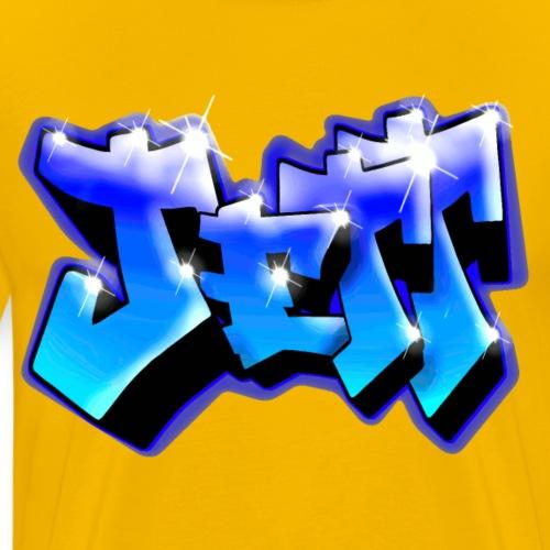 JETT GRAFFITI TAG PRINTABLE BY MAX LE TAGUEUR - T-shirt Premium Homme