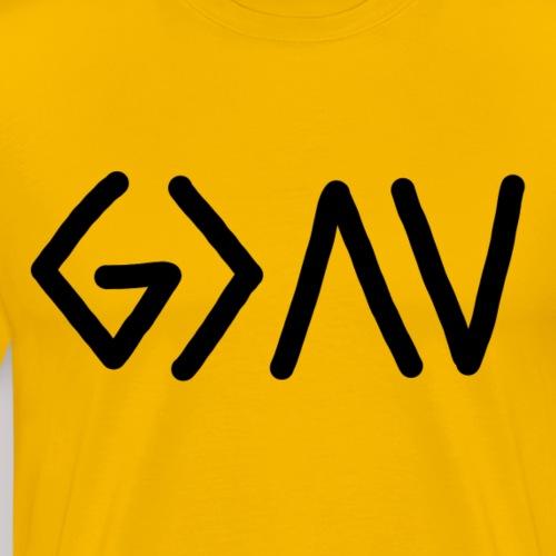 Dios es lo más grande - Camiseta premium hombre