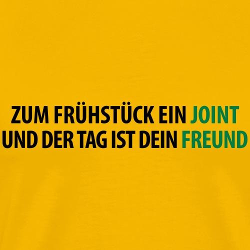 Frühstück Joint Freund Cannabis Amsterdam - Men's Premium T-Shirt