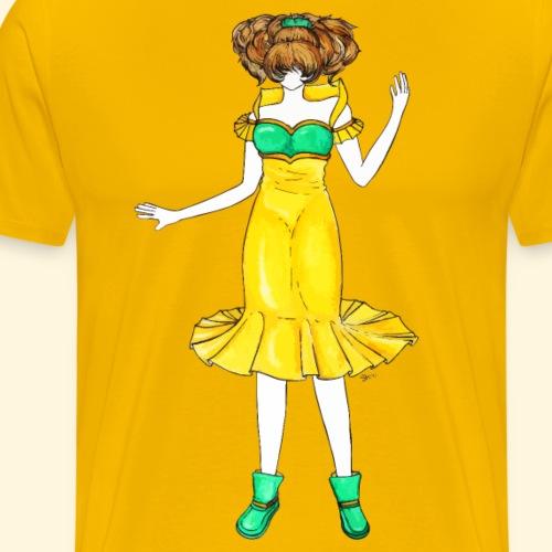 Fée du printemps - Jonquille, la belle jaune - T-shirt Premium Homme
