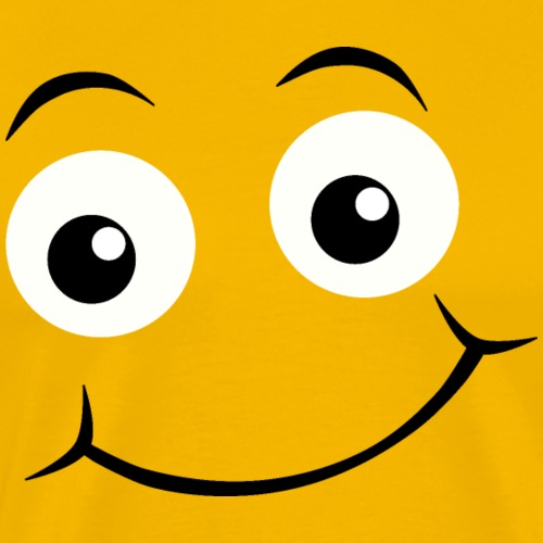 Emoji yeux heureux - T-shirt Premium Homme