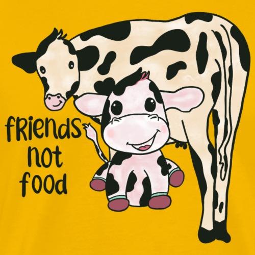 Friends not food - Men's Premium T-Shirt