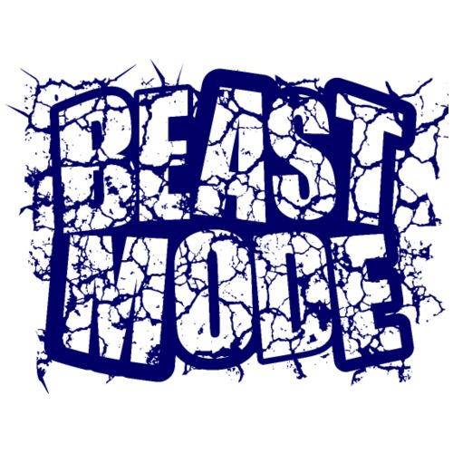 BEAST MODE AZUL 1 - Camiseta premium hombre