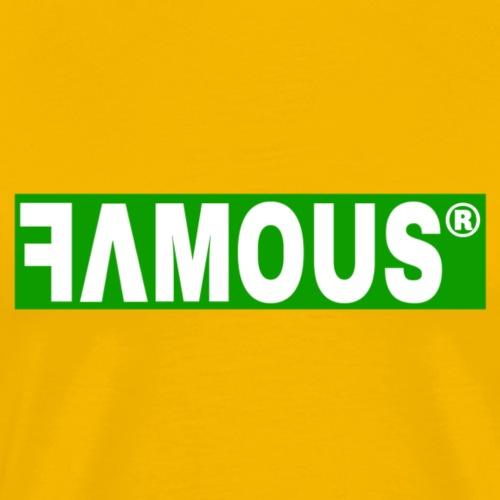 Famous v3 Design - T-shirt Premium Homme
