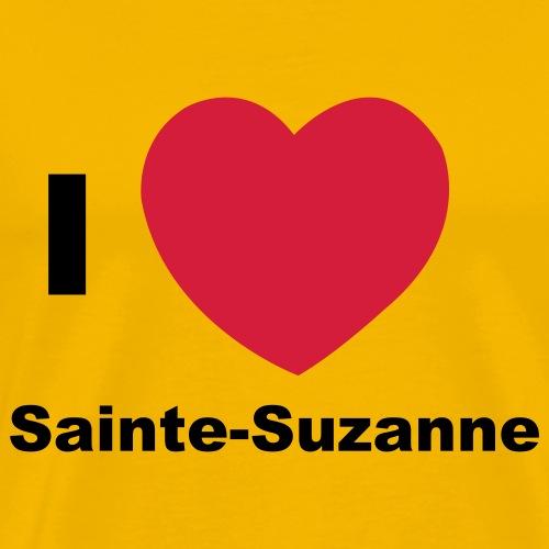i love sainte suzanne - T-shirt Premium Homme