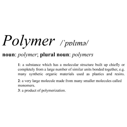 Polymer definition. - Men's Premium T-Shirt