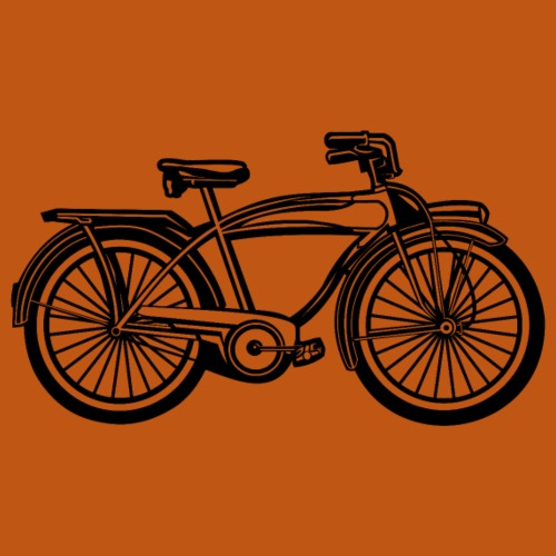 Beach Cruiser Fahrrad 01_schwarz - Männer Premium T-Shirt