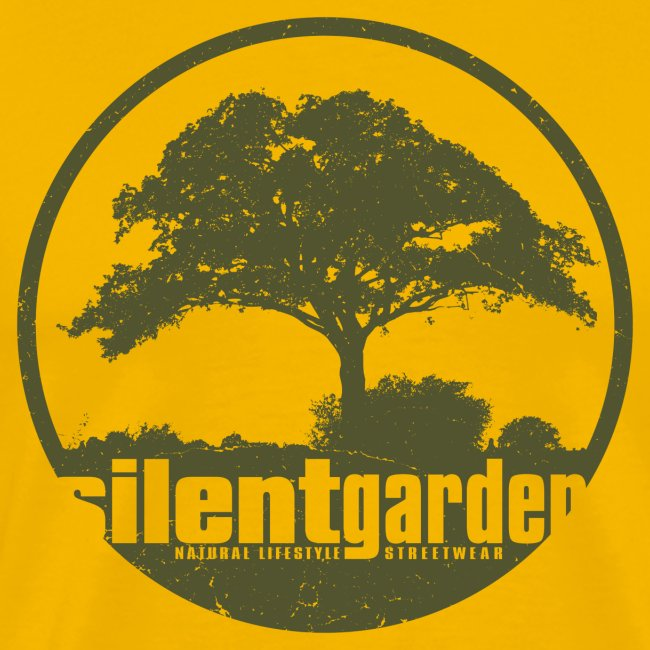 silent garden (green oldstyle)