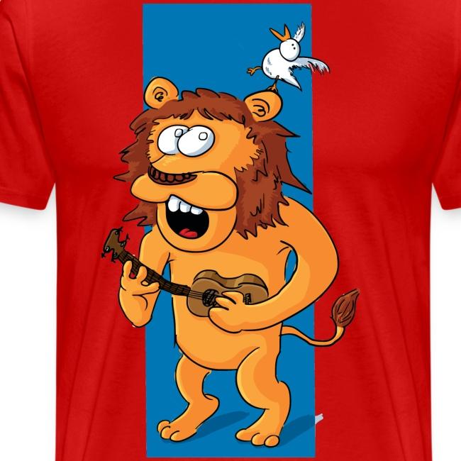 L'ours-lion et l'oiseau