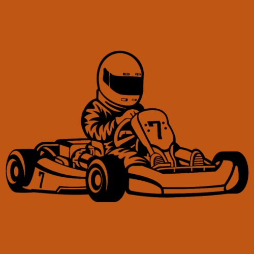 Go-Kart / Go-Cart 01_schwarz - Männer Premium T-Shirt