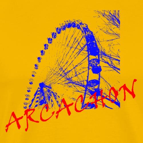 Ferris wheel Arcachon - Men's Premium T-Shirt
