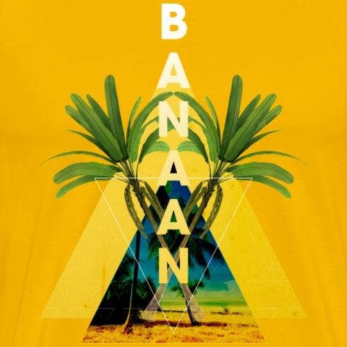 BANAAN 04 - Mannen Premium T-shirt