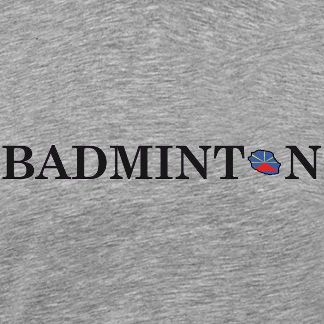 Ecriture BADMINTON