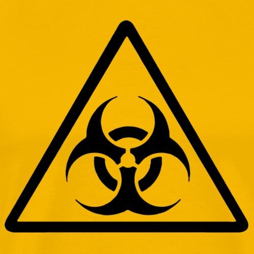 Biohazard - einfarbiger Druck - Männer Premium T-Shirt