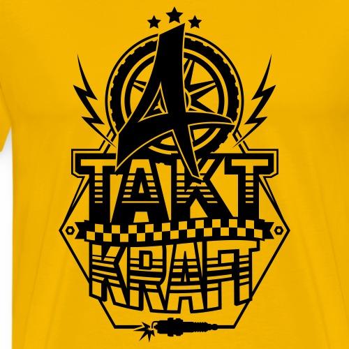 4-Takt-Kraft / Viertaktkraft - Men's Premium T-Shirt