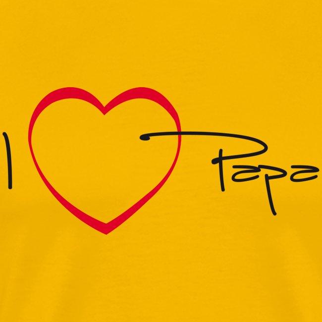 I love papa - 15 graph
