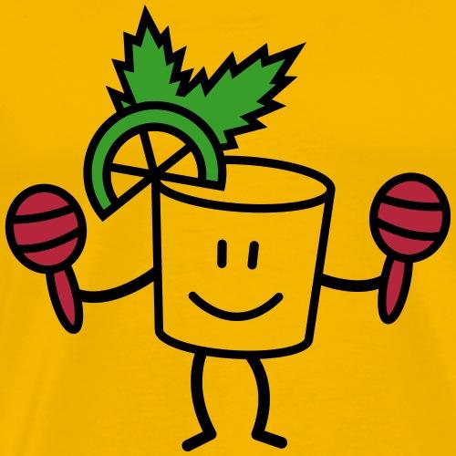 Mojito citron menthe & maracas - T-shirt Premium Homme