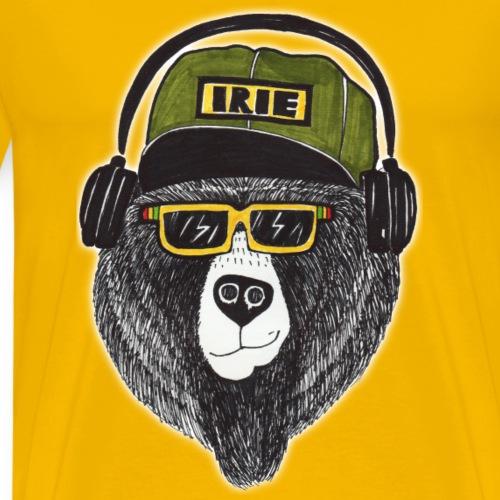 Irie Bear Dark - Männer Premium T-Shirt