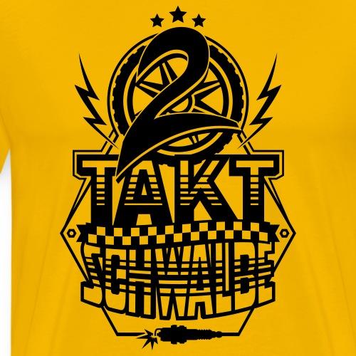 2-stroke swallow / two-stroke swallow - Men's Premium T-Shirt
