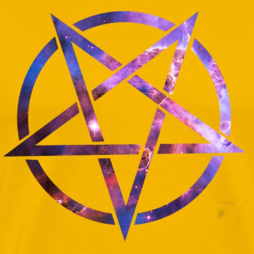 Cosmic Pentagramm - Men's Premium T-Shirt