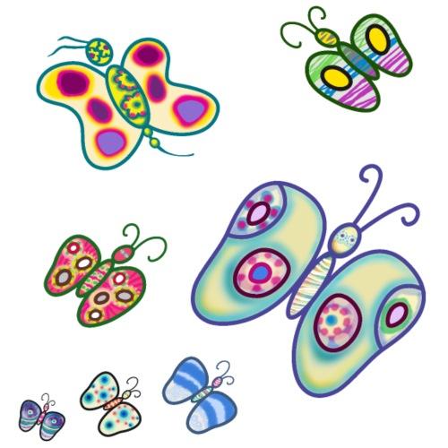 Allegria di farfalle - Maglietta Premium da uomo