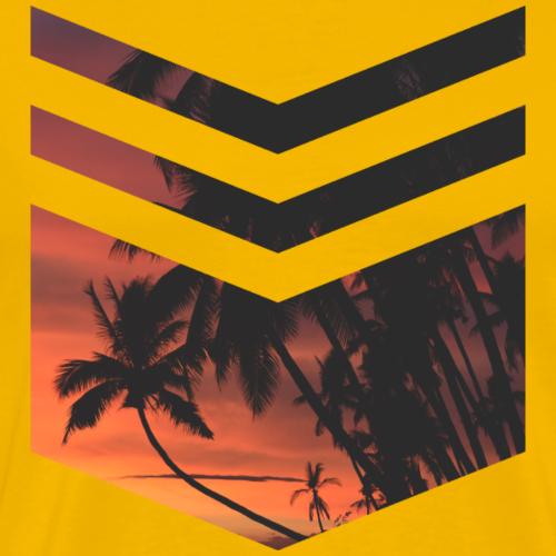 Palm Beach - Männer Premium T-Shirt