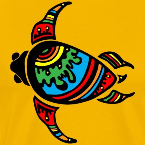 Bunte Schildkröte - Männer Premium T-Shirt