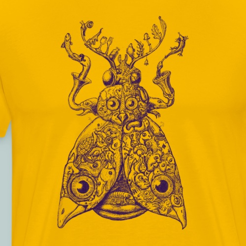 Sammelsuriumschmetterling - Kunst im Alltag - Männer Premium T-Shirt
