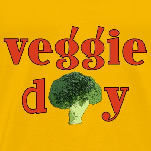 veggiebrokkoli3 - Männer Premium T-Shirt