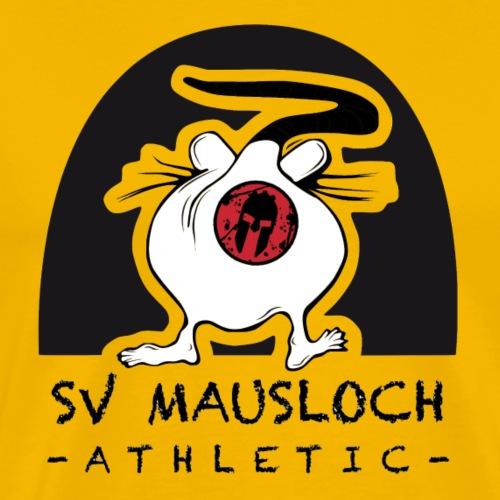 Mausloch Athletic - Männer Premium T-Shirt