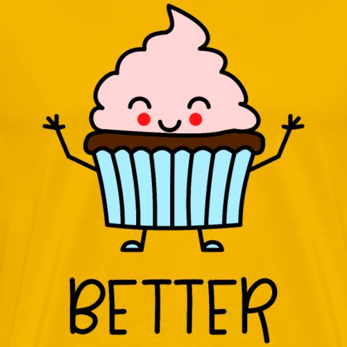 Better Together Partnerlook (Part1) Muffin - Männer Premium T-Shirt