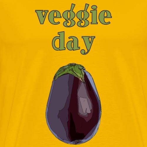 veggieaubergine2 - Männer Premium T-Shirt