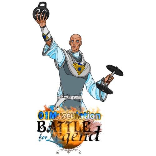 Conjurateur Battle for Legend X 01Musculation - T-shirt Premium Homme