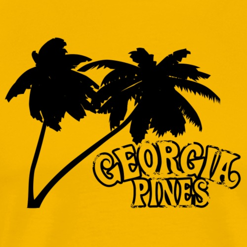 Georgia Pines Band Shirt Logo Palmen frei - Männer Premium T-Shirt