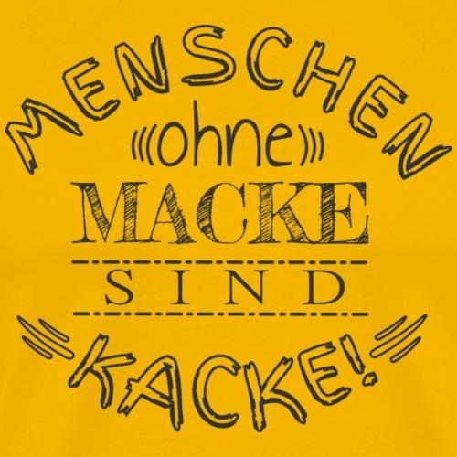Macke - Männer Premium T-Shirt