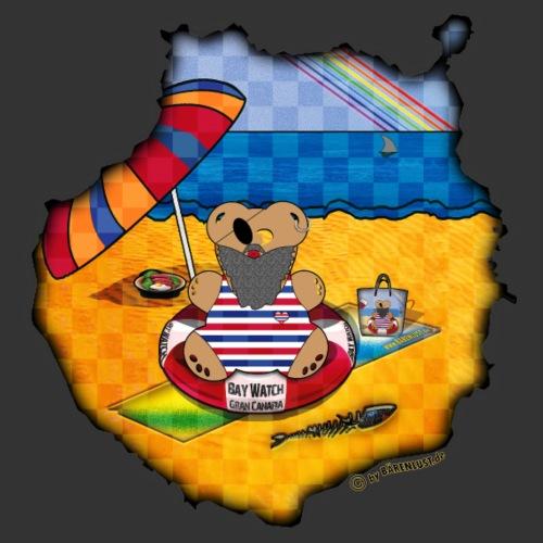 GC Urlaub mit der Bärenlust - Männer Premium T-Shirt