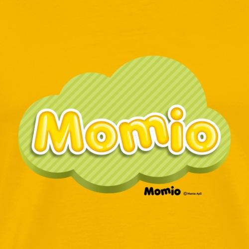 Momio logo - Herre premium T-shirt