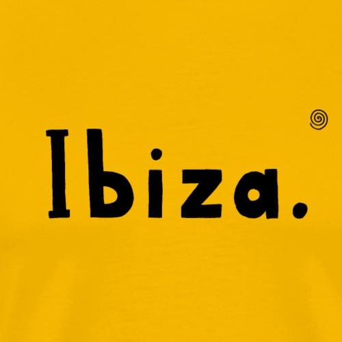 Ibiza (schwarz) - Männer Premium T-Shirt