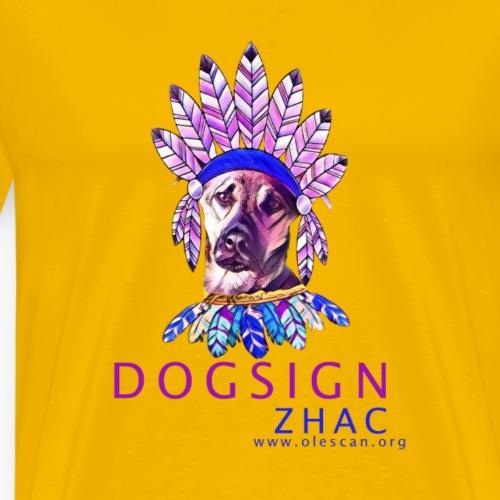 Zhac - Camiseta premium hombre