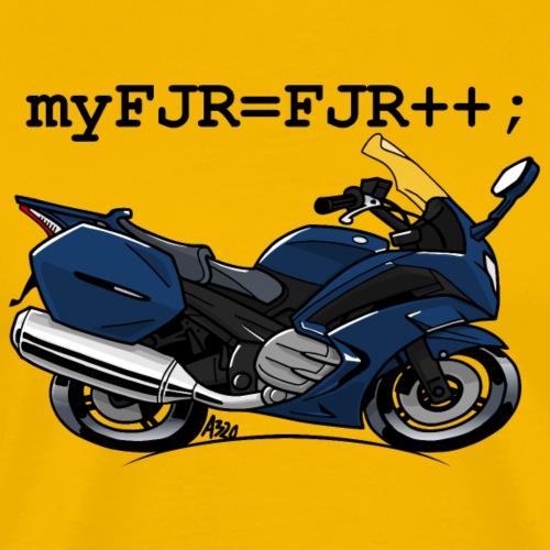 myFJR kleur - Mannen Premium T-shirt