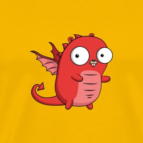 Dragon Gopher Go Golang