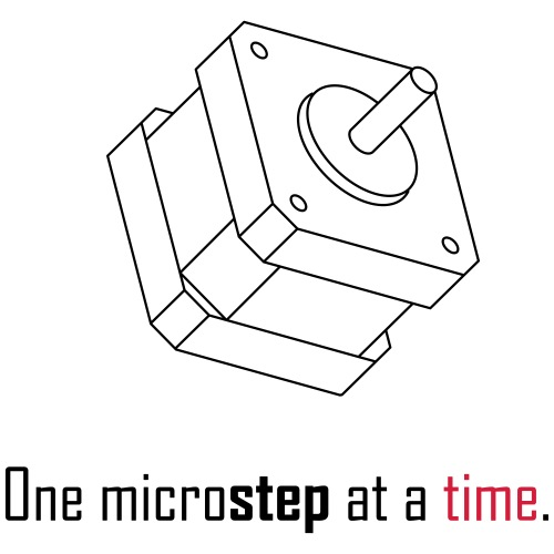One microstep at a time. - Men's Premium T-Shirt