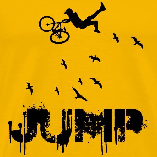 DOWNHILL JUMP - Männer Premium T-Shirt