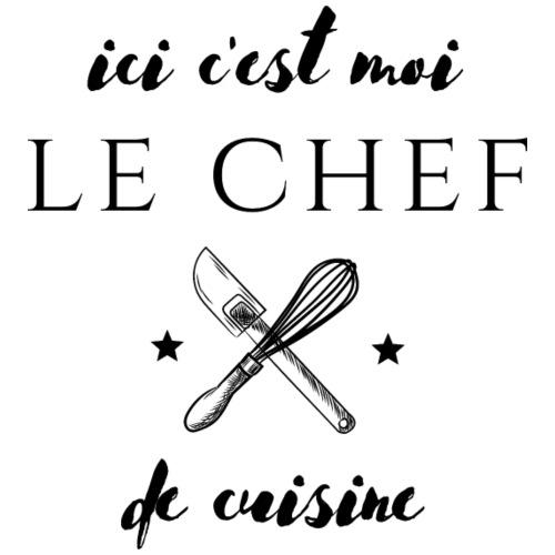ici c'est moi le chef de cuisine - T-shirt Premium Homme