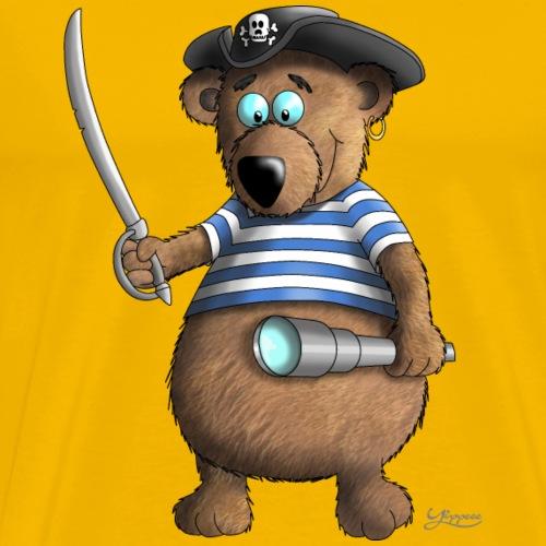 Lustiger Pirat - Männer Premium T-Shirt