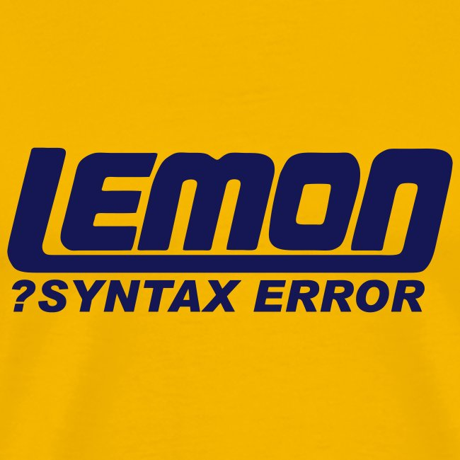 lemon logo syntax error